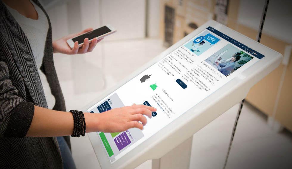 kiosk app web